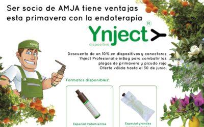 Fertinyect colabora con la Asociación Multisectorial de la Jardinería Andaluza (AMJA)