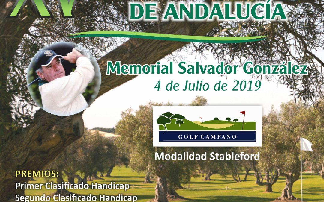 XV Torneo de Greenkeepers de Andalucía Memorial Salvador González