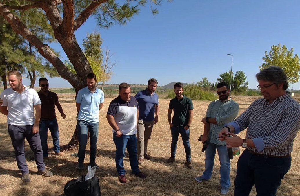 Formación de inyección al tronco en Extremadura