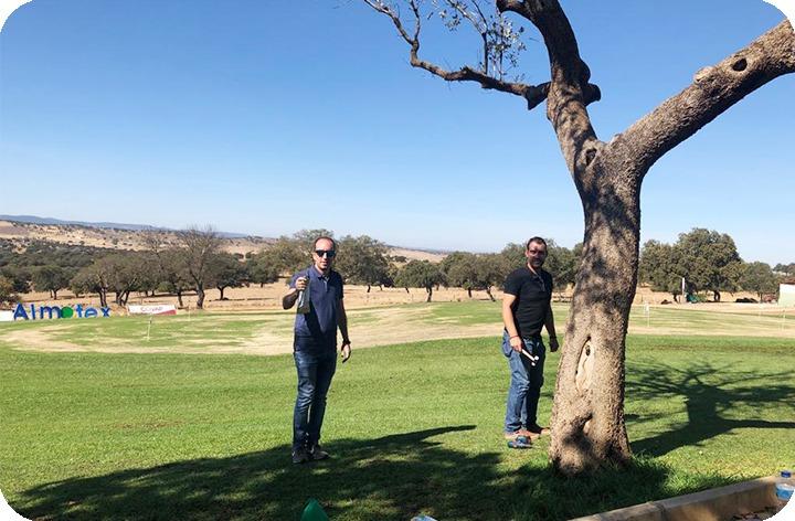 Endoterapia en el campo de golf de Pozoblanco
