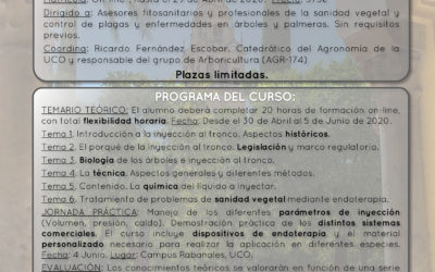 II Curso de Endoterapia Vegetal UCO